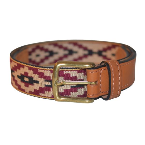 Cinturon Faja Pampa Guarani